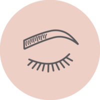 Lashes & Brows Icon
