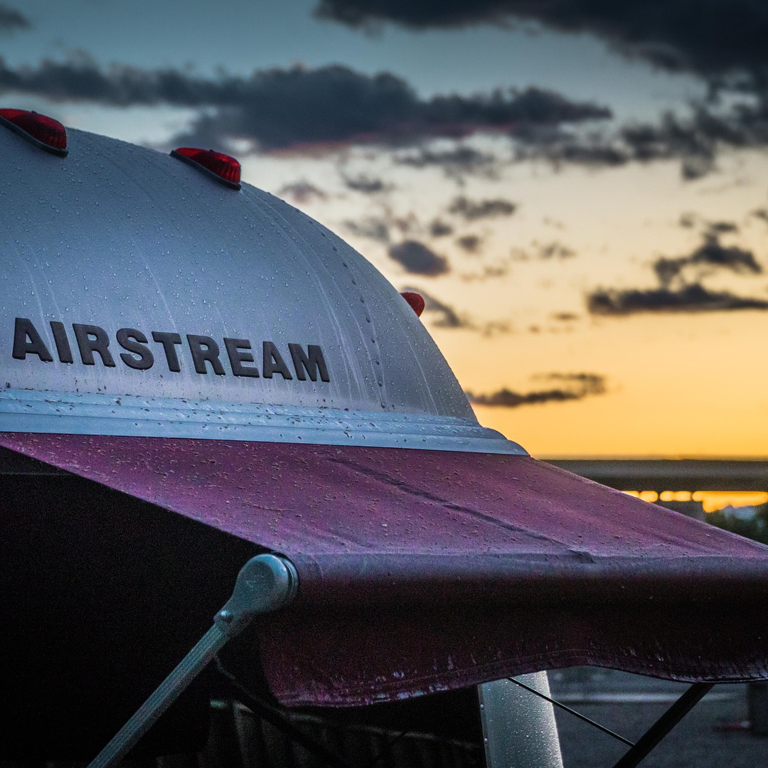 Airstream Trailer for Bridal Hair and Makeup